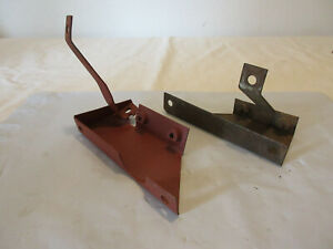 Ford Gpw Jeep Air Cleaner Brackets Original F