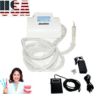 Lcd Touch Screen Dental Ultrasonic Scaler Sensitive Treatment Teeth Clean Tool