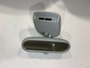 New Vw Beetle Rear View Mirror Clock Grey 00 03 Oem 1c0 857 511 P