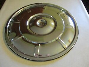 1960 s Ford Factory Chrome Air Cleaner Lid Mustand Galaxie T bird