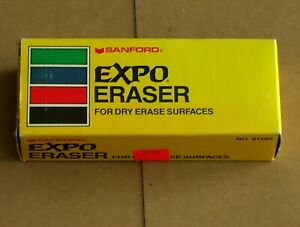 Vintage Sanford Expo Dry Eraser For Dry Erase Surfaces No 81505 With Box