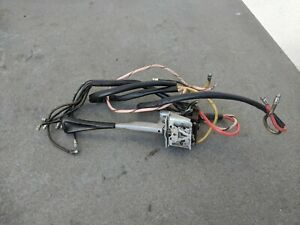 Porsche 356 C Sc T6 Turn Signal Switch Works