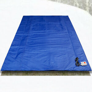 Electric Heavy Duty Insulated Blanket 4x11 Extreme Concrete Curing Tarp