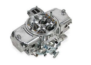 Demon 750 Cfm Aluminum Mighty Carburetor W Vacuum Secondaries Down Leg