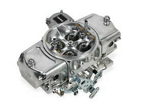 Demon 850 Cfm Aluminum Mighty Carburetor W Vacuum Secondaries Down Leg