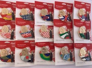 Coca Cola PIN RIO 2016 OLYMPIC GAMES OFFICIAL 15 PINS LIMITED