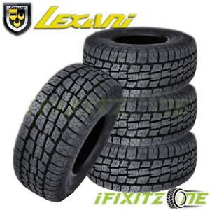 4 Lexani Terrain Beast At 245 70r16 107h All Terrain Season Suv Truck Cuv Tires