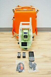 Leica Tcrp1205 R1000 Reflectorless Robotic Total Station 5 Sec 1205