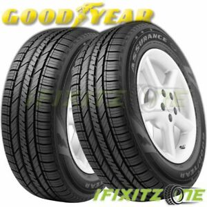2 Goodyear Assurance Fuel Max 225 55r16 95h All Season High Mileage 65k Mi Tire