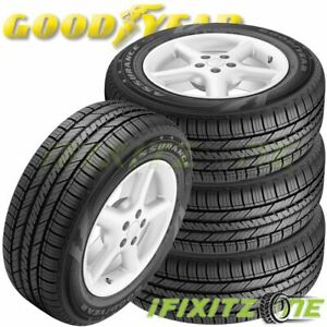 4 Goodyear Assurance Fuel Max 225 55r16 95h All Season High Mileage 65k Mi Tire