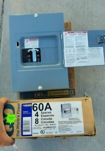Square D Qo 60a Main Generator Breaker Panel Manual Transfer Switch Qo48m60dsgp