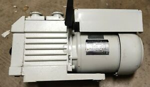 Leybold D1 6b Trivac Rotary Vane Dual Stage Mechanical Vacuum Pump