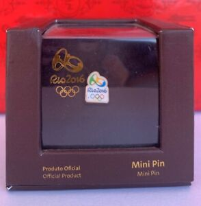 RIO 2016 OLYMPIC GAMES OFFICIAL 1 MINI PIN Limited Edition