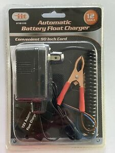 Iittool Automatic Battery Float Charger 12v New