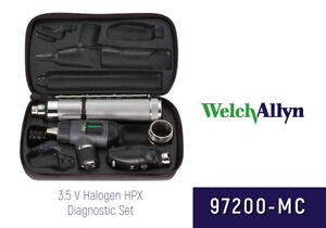 Welch Allyn Diagnostic Set 97200 mc Macroview Ophthalmoscope New