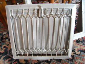 Vintage Metal Vent Grate Cover Heat Wall Floor Air Return Register Steam Punk