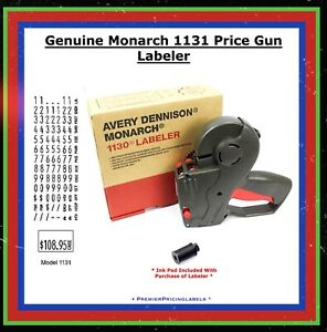 Genuine Monarch 1131 Price Gun Labeler