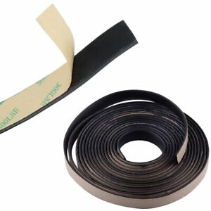 5m 16ft Waterproof Rubber Seal Weather Strip Trim For Car Front Rear Windshield