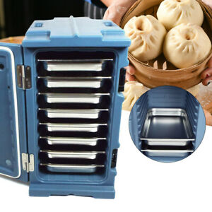 Insulated Catering Hot Cold Cooler Chafing Dish Food Pan Carrier Box Commercial