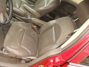 2002 Pt Cruiser From Chrysler Oem Front Rear Dark Gray Leather Seats 350 Obro
