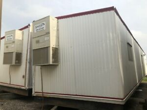 Used 2007 24 X 60 Doublewide Mobile Office Trailer Sn 302809 dallas Tx