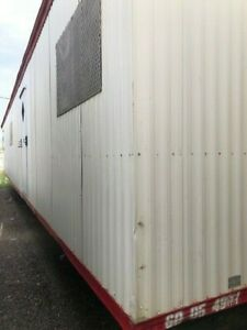 Used 2005 12x60 Doublewide Mobile Office Trailer Sn 4907 Dallas Tx