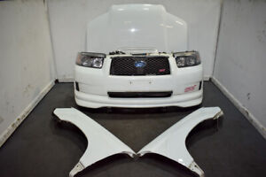 Used Rare Jdm 03 08 Subaru Forester Sti Front End Sg9 With Lip Headlights Etc