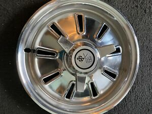 Set Of Four 1964 Corvette Hubcaps Good Condition Buyer Pays Shipping