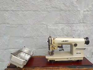 Industrial Sewing Machine Dmn 530 4 With Edge Cut light Leather