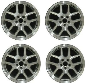 18 Ford Mustang Shelby Gt500 07 08 09 Factory Oem Rim Wheel 3668 Silver Set