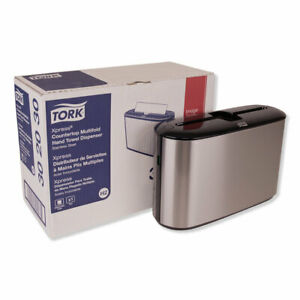 Tork Xpress Countertop Towel Dispenser 12 68 X 4 56 X 7 92 Stainless Steel