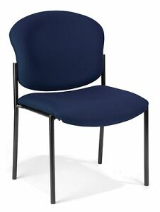 Ofm Armless Stack Chair Navy 408 804