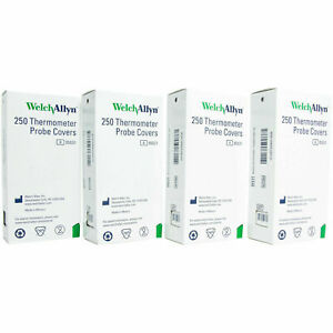 Welch Allyn Thermometer Probe Covers Box Of 1000 In Stock Ref 05031 Hillrom