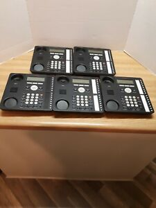 Avaya Ip 1616 1 Digital Display Home Office Business Phone Base Only Lot Of Five