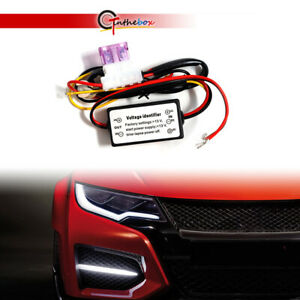 Led Drl Daytime Running Lights On Off Automatic Control Dimmer Relay Harness Kit