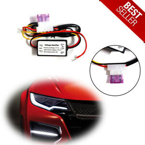 1piece Vehicle Daytime Running Lights On Off Controller Box Drl Automatic Dimmer