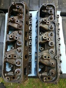 Custom Machined Code 452 Mopar Dodge 440 Big Block Heads 400 383