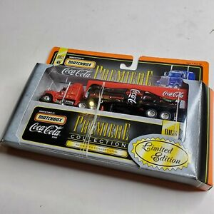 Matchbox Premiere Collection Coca Cola Coke Kenworth Conventional Delivery Truck