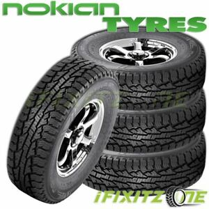 4 Nokian Rotiiva At 275 60r20 115h All Terrain a t Tires