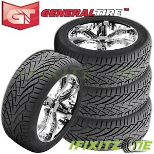 4 General Grabber Uhp 305 35r24 112v Xl Ultra High Performance Sport Truck Tires