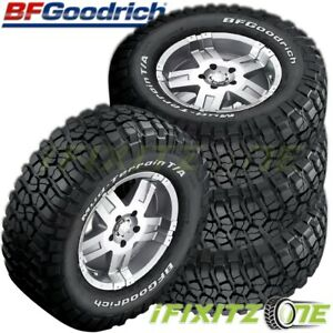 4 Bf Goodrich Mud Terrain T A Km2 Lt255 80r17 121 118q E Rwl Performance Tires