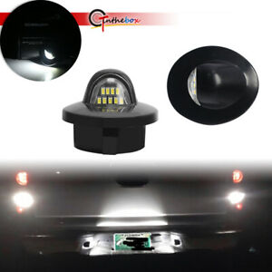 Pair Led License Plate Lights Lamps With 12 Leds For 2000 2005 Ford Excursion