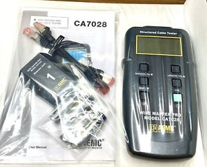 Aemc Ca7028 2127 82 Fault Mapper Cable Length Meter Fault Locator Brand New
