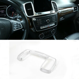 Silver Central Control Outlet Air Vent Cover For Mercedes Benz Gle Gls 2016 2019