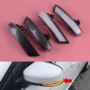 Fit For Ford Focus Mk3 2011 2018 Side Wing Mirror Led Dynamic Turn Signal Lights