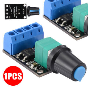 Pwm Dc 5v 16v 10a Dc Motor Speed Controlling Switch Led Dimmer Controller 1pc