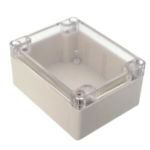 Plastic Waterproof Cover Electronic Project Box Enclosure Case 115x90x55mm