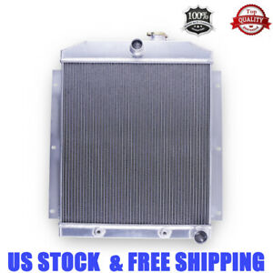 3 row For 1947 1954 Chevrolet Chevy Pickup Truck 3100 3600 380 Aluminum Radiator