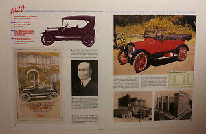 1920 Chevy Article Must See
