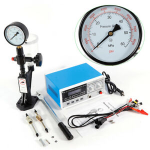 Fuel Nozzle Machine Cr C Common Rail Injector Tester S60h Injector Tester 600bar